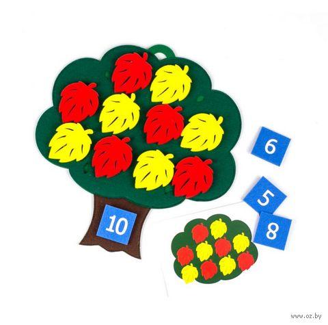 """Развивающая игрушка """"Дерево с листьями"""" — фото, картинка"""