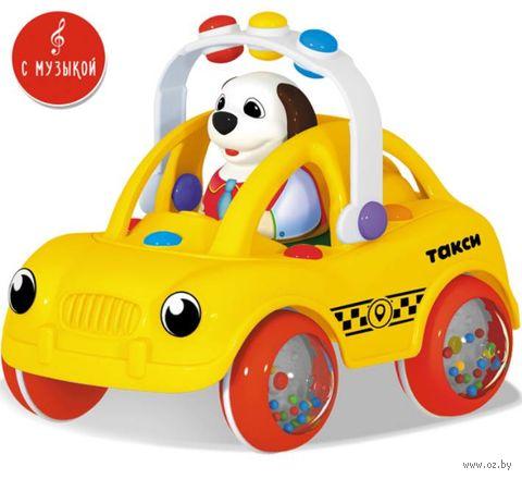 "Машинка ""Ватрушка. Такси"" — фото, картинка"