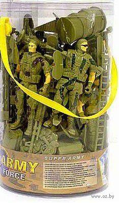 Набор солдатиков (3 шт.; с аксессуарами) — фото, картинка
