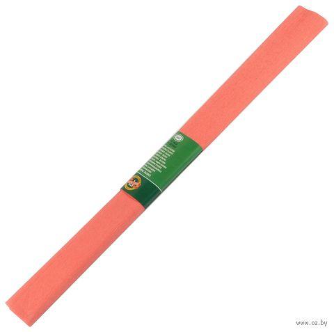 Бумага креповая (50х200 см; красная лососевая)
