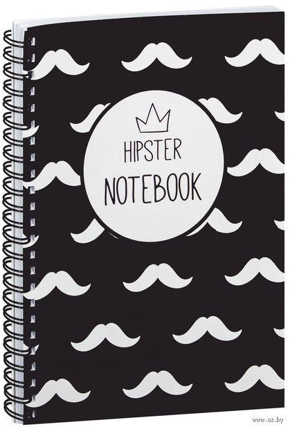 """Блокнот в клетку """"Hipster notebook"""" A5 (1365)"""