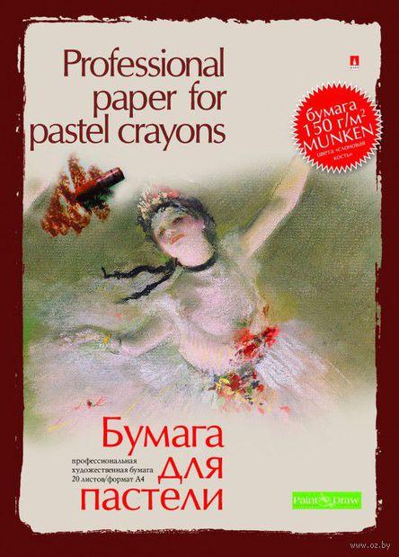 Папка для пастели (А4; 20 листов) — фото, картинка