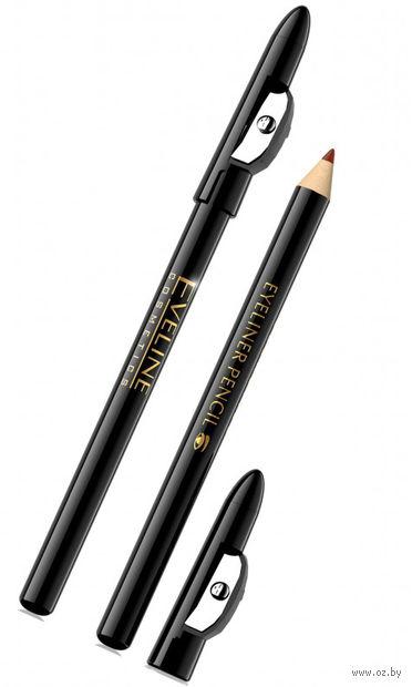 "Карандаш для глаз ""Eyeliner Pencil"" (тон: коричневый) — фото, картинка"