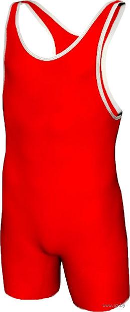 Трико борцовское MA-401 (р. 38; красное) — фото, картинка