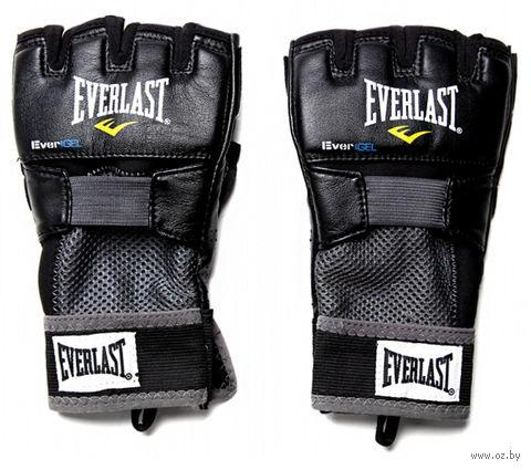 """Перчатки снарядные """"Evergel Weight Lifting"""" (L; чёрные; арт. 4356BL) — фото, картинка"""