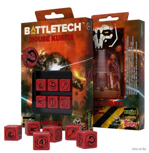 "Набор кубиков D6 ""Battletech. House Kurita"" (6 шт.) — фото, картинка"