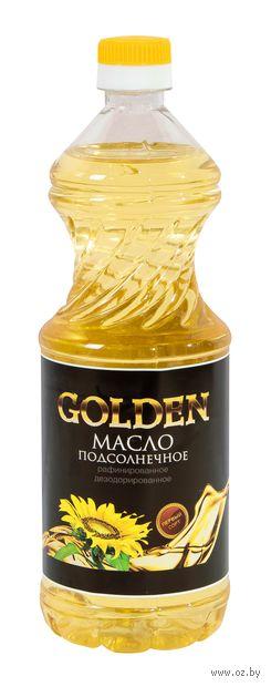 "Масло подсолнечное ""Golden"" (800 мл) — фото, картинка"