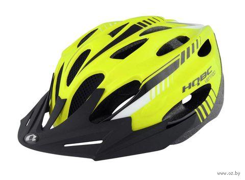 """Шлем велосипедный """"Ventiqo"""" (L; жёлтый; арт. Q090352L) — фото, картинка"""
