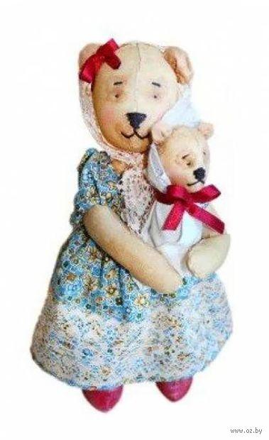 """Набор для шитья из ткани """"Кукла. Мишка Мама"""""""