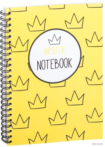 "Блокнот в клетку ""Hipster notebook"" A5 (арт. 1366)"