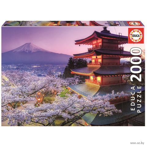 """Пазл """"Гора Фудзи. Япония"""" (2000 элементов)"""