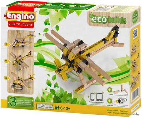 """Конструктор """"Eco Builds. Самолеты"""" (119 деталей) — фото, картинка"""
