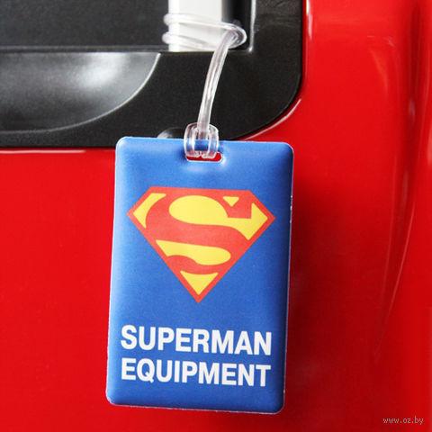 "Бирка на багаж ""Супермен"""