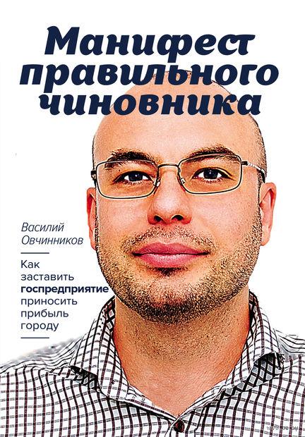 Манифест правильного чиновника. Как заставить госпредприятие приносить прибыль городу. Василий Овчинников