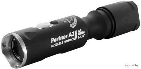 Фонарь Armytek Partner A1 Pro v3 XP-L (тёплый свет) — фото, картинка