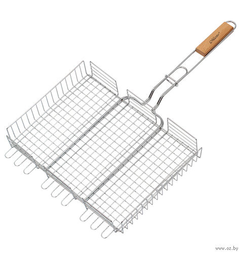 Решетка-гриль металлическая (40х30 см; арт. Mr-1003) — фото, картинка