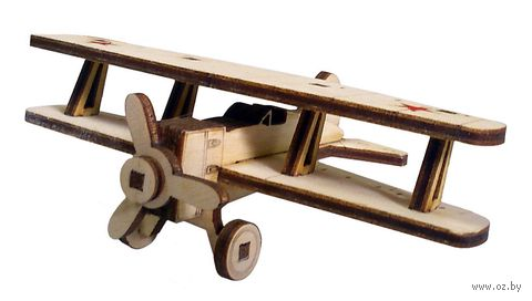 """Сборная деревянная модель """"Советский самолет"""" — фото, картинка"""
