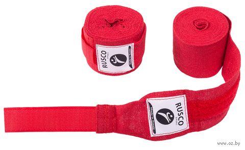 Бинт боксёрский (4,5 м; красный) — фото, картинка