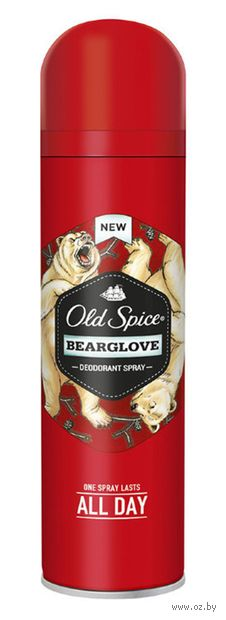 """Дезодорант-антиперспирант для мужчин """"Bearglove"""" (спрей; 150 мл) — фото, картинка"""