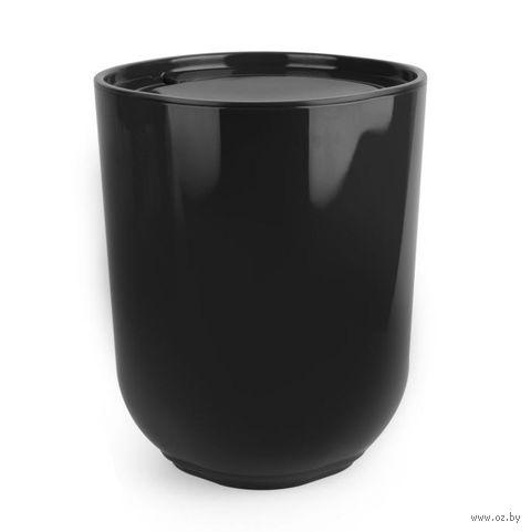 """Ведро для мусора """"Step"""" (черное) — фото, картинка"""