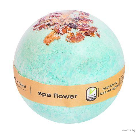 """Бурлящий шар для ванны """"Цветок Спа"""" (200 г) — фото, картинка"""