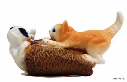 """Фигурка """"Котята играют"""" (3 см)"""