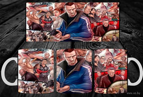 """Кружка """"GTA"""" (арт. 2) — фото, картинка"""