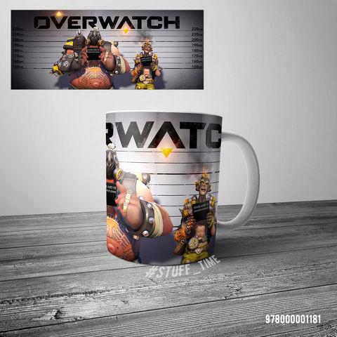 """Кружка """"Overwatch"""" (арт. 1181) — фото, картинка"""