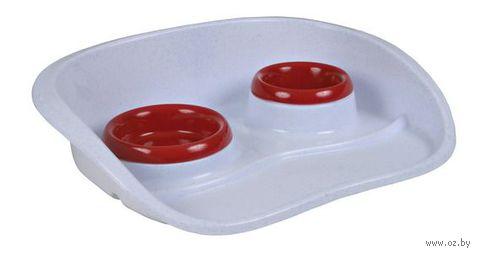 Набор для еды пластиковый (46х11х30 см) — фото, картинка