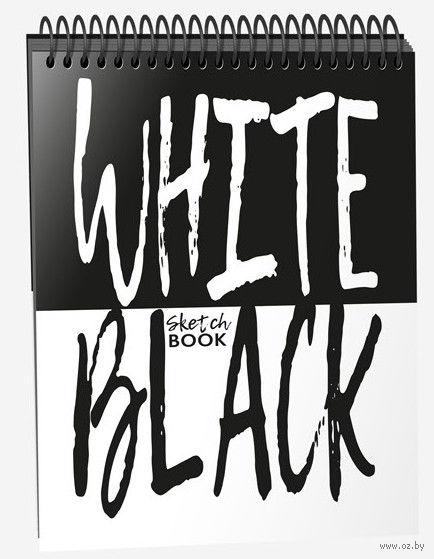 """Скетчбук """"White Black"""" (А5) — фото, картинка"""