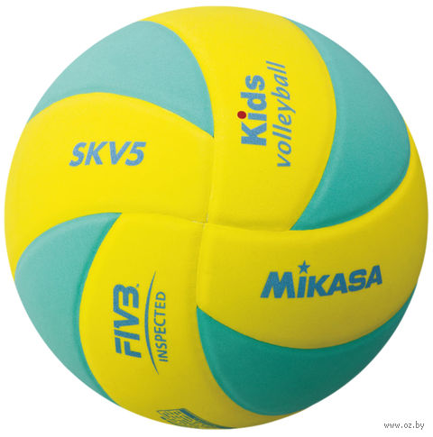 Мяч волейбольный Mikasa SKV5 YLG — фото, картинка