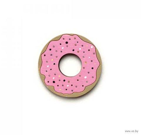 "Значок ""Пончик"" (арт. 80-2) — фото, картинка"
