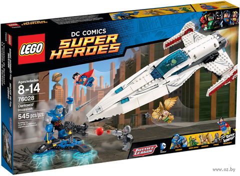 "LEGO Super Heroes ""Вторжение Дарксайда"""