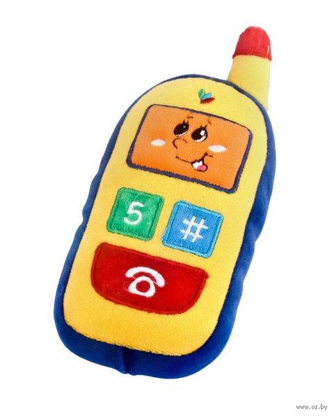 """Мягкая музыкальная игрушка """"Телефон"""""""
