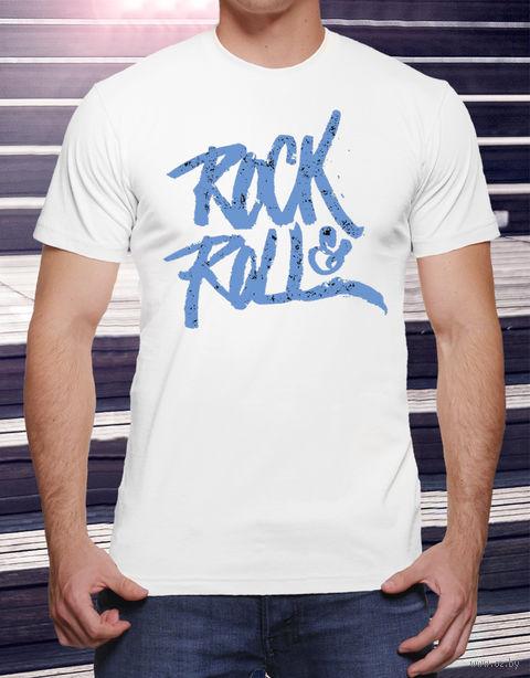"""Футболка мужская """"Rock and Roll"""" XXL (art.19)"""