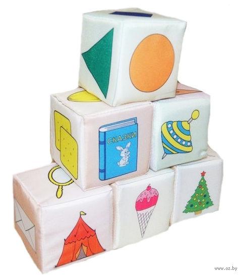 """Кубики """"Формы"""" (6 шт) — фото, картинка"""