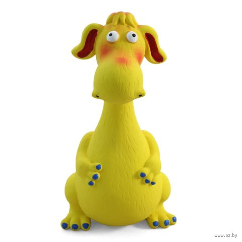 """Игрушка для собак с пищалкой """"Дракоша"""" (21 см) — фото, картинка"""