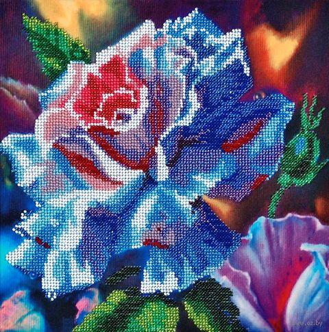"Вышивка бисером ""Волшебная роза"" (250х250 мм) — фото, картинка"