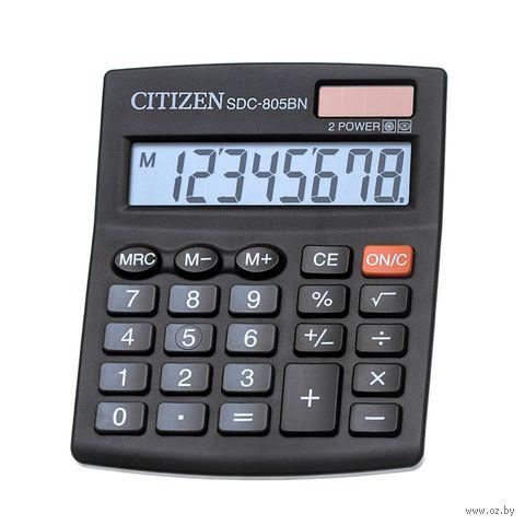 Калькулятор настольный SDC-805BN (8 разрядов) — фото, картинка