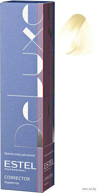 "Краска-уход для волос ""De Luxe. Correct"" тон: 0/00A, аммиачный — фото, картинка"