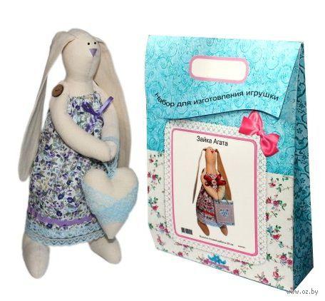 """Подарочный набор для шитья из ткани """"Кукла. Зайка Любава"""""""