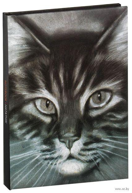 "Записная книжка в клетку ""Кошка №1"" (А5) — фото, картинка"