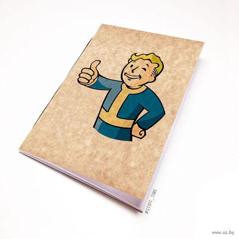 """Блокнот крафт """"Fallout"""" А6 (109)"""
