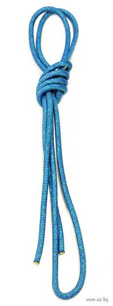 Скакалка для художественной гимнастики Pro 10104 (синяя) — фото, картинка