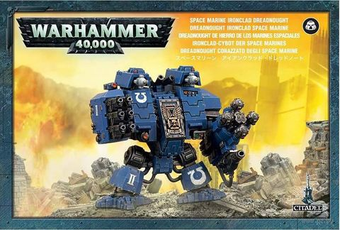 Warhammer 40.000. Space Marines. Ironclad Dreadnought (48-46) — фото, картинка