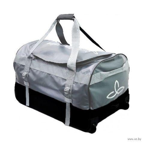 """Сумка дорожная """"Roller duffle bag 70"""" (70 л; серый) — фото, картинка"""