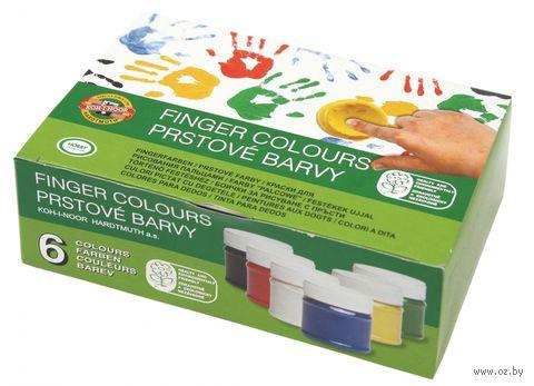 Пальчиковые краски (6 цветов)