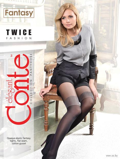 """Колготки женские фантазийные """"Conte. Twice"""""""