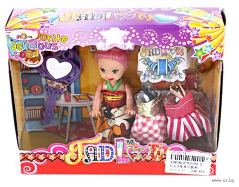 Кукла с аксессуарами (14 см; арт. V2020-2) — фото, картинка