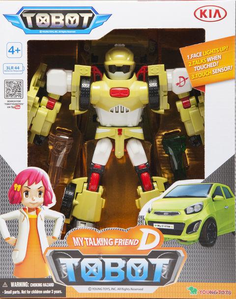 """Музыкальная игрушка """"Tobot D"""" (со световыми эффектами) — фото, картинка"""